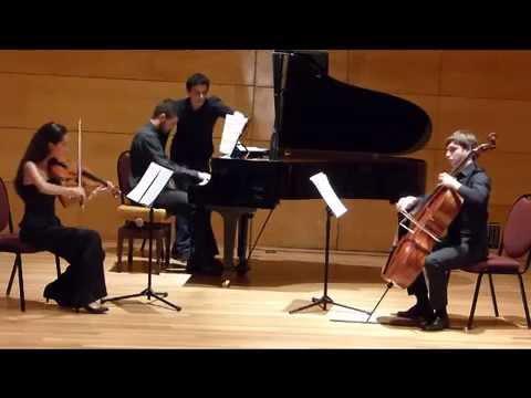 Concierto Trio de Cámara del Conservatorio del Liceo de Barcelona