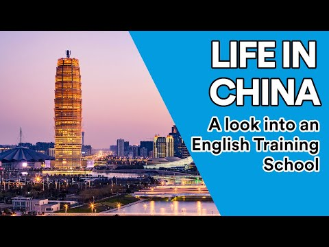 Life in China: A Look into an English Training School in Zhe
