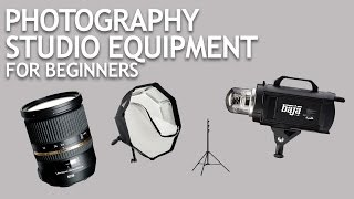 Photography Studio Equipment for Beginners