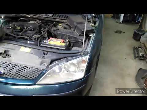 Форд Мондео 3, Ford Mondeo 3. Замена ремня навесных агрегатов