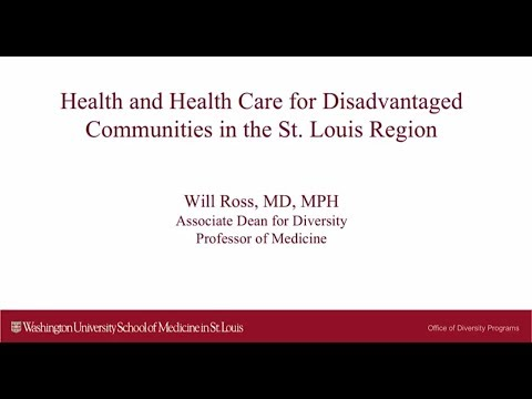 Health and Health Care for the Disadvantaged in St Louis