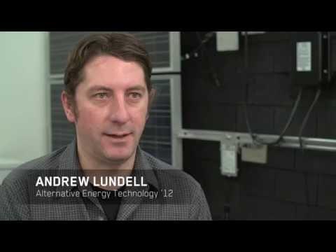 NAIT alumni design solar energy careers in Alberta