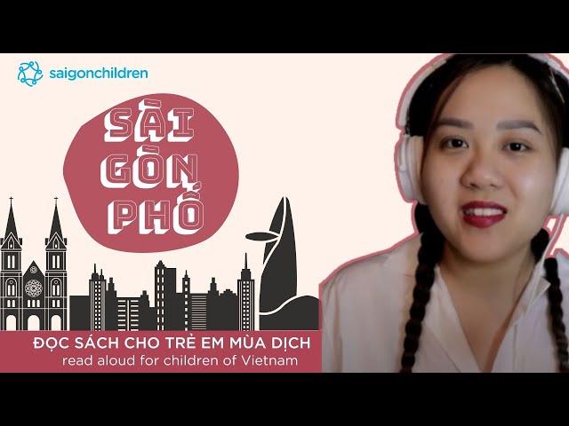 Sài Gòn phố   Đọc sách cho trẻ mùa dịch