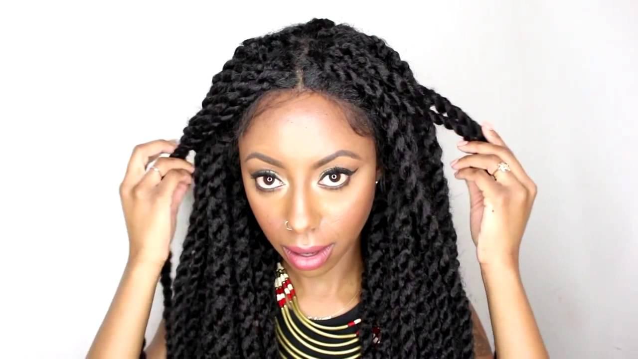 Sensationnel Braid Lace Wig Senegal Locks Review