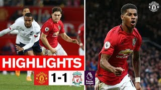 Highlights | United 1 1 Liverpool | Premier League