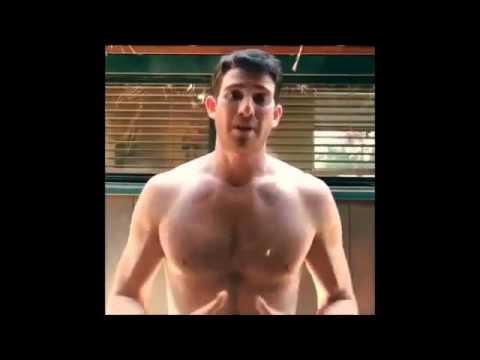 Bryan Greenberg Shirtless ALS Ice Bucket