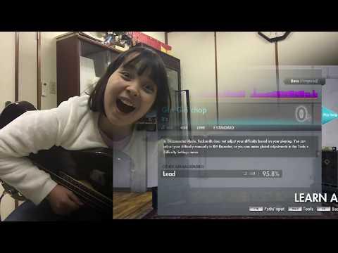 Giri Giri chop - B'z - cover (bass) Kate