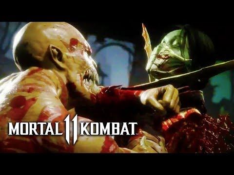 Mortal Kombat 11 - Official Jade vs Baraka Gameplay | Kombat Kast 2 thumbnail