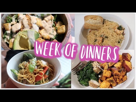 A Week Of Dinners For LAZY People | DAIRY FREE