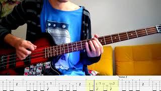 She Only Lies – Nirvana (Kurt Cobain) – Bass cover with tabs (4k)