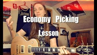 Quick Economy Picking Lesson in D Major!!!