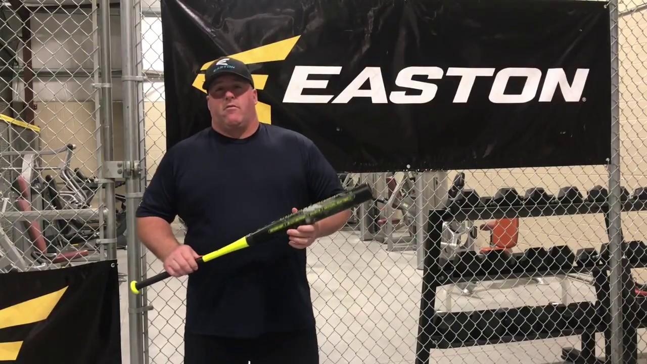 2018 Easton Helmer Hitman 44 Loaded 1 21BPF Senior Softball Bat