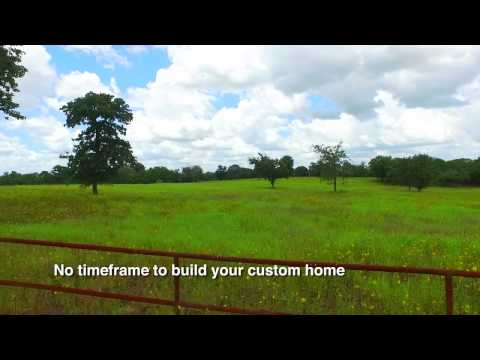beautiful 10 acre lot in luling tx   youtube
