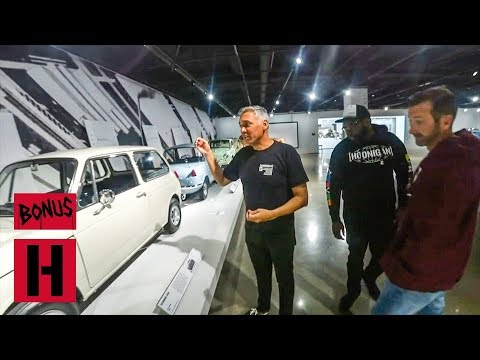 Petersen Auto Museum Walkaround with Hert, Nads and Bad Daddy!