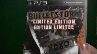 Bulletstorm: Limited Edition PS3 Unboxing (Lapwner)