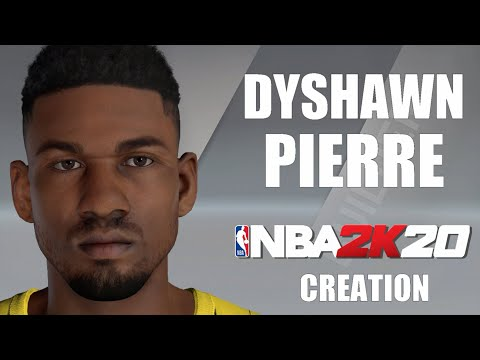 NBA 2K20 | Dyshawn Pierre // Fenerbahçe Istanbul ✪ Player Creation Tutorial - #Euroleague2K21