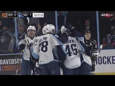 Hershey Bears 1, Milwaukee Admirals 5 (October 13, 2018)
