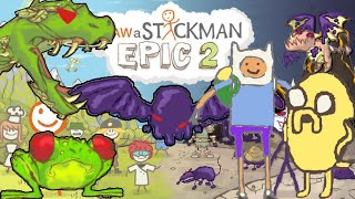 Draw a stickman epic 2 All Boss Fight Gameplay - Finn and Jake(Draw a stickman epic 2 Boss Fight Gameplay for windows, android, ios, steam All Boss fights from start to end in Draw a stickman epic 2 played with Finn and ..., 2016-08-29T07:22:07.000Z)