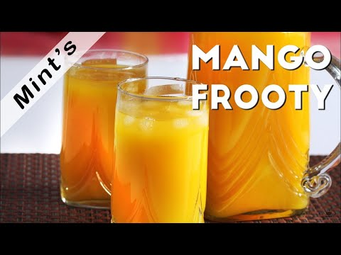Mango Juice Recipe - Mango Frooti Juice Recipe - How To Make Mango Juice - Mazaa Recipe- Ep-120