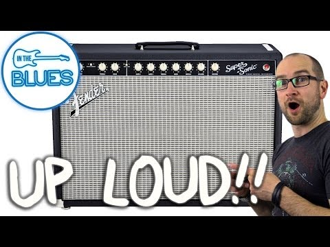 Fender Super-Sonic 60 (So Loud Your Teeth Will Shatter!)