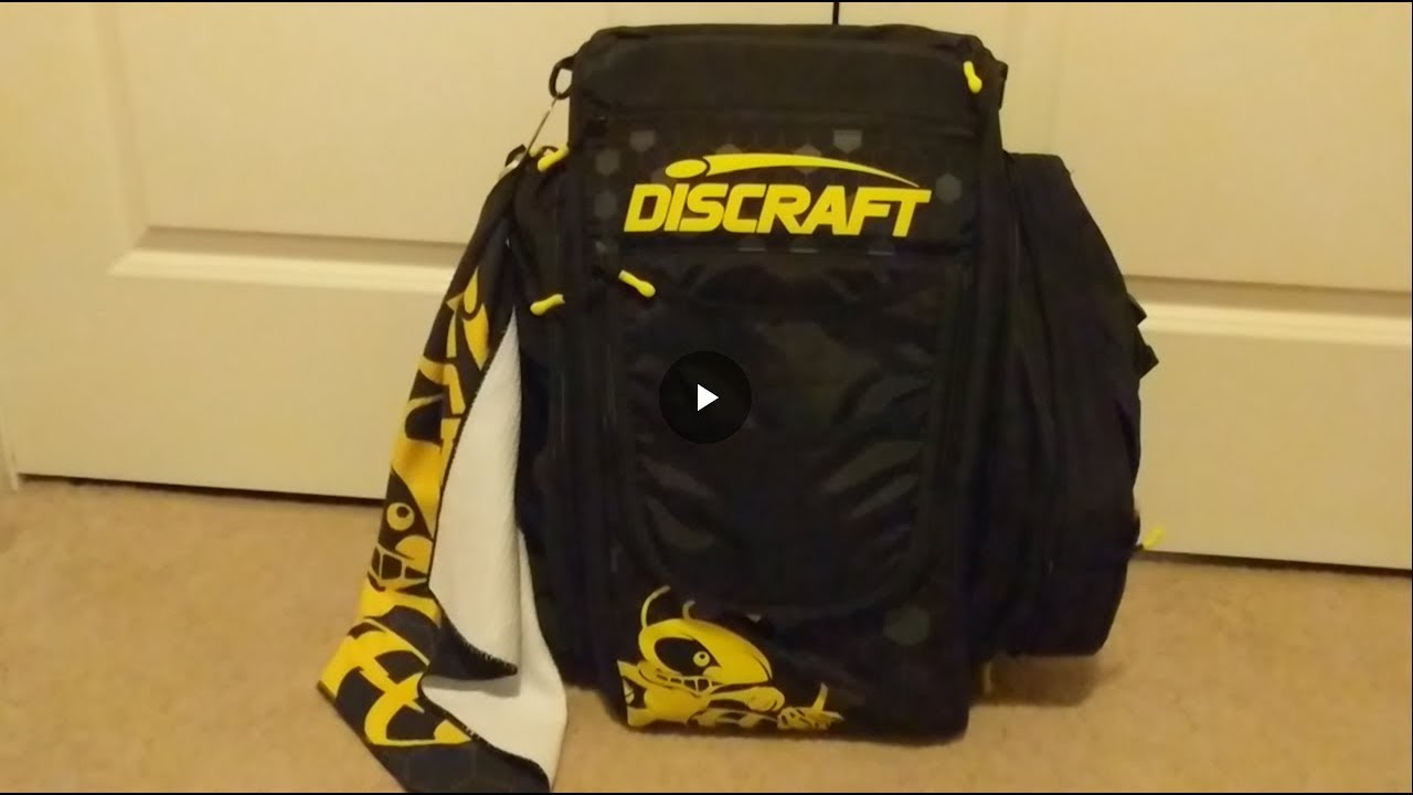 Review Of Grip Eq Bx Buzzz Disc Golf Bag Coal