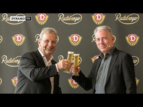 Pressekonferenz | Radeberger ist neuer Exklusiv- und Bierpartner der SGD