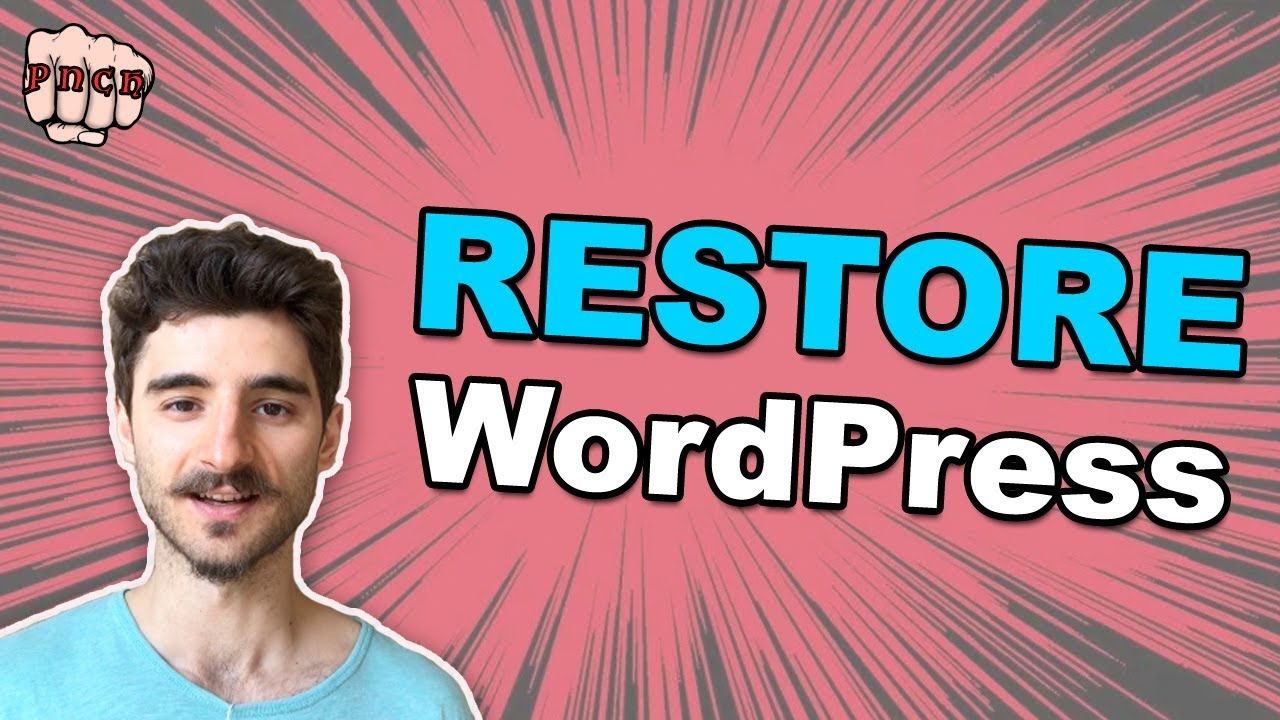 Restore WordPress from Backup – Even if you can't access WP