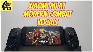 Xiaomi Mi A1 Modern Combat Versus Gameplay/FPS online game Android/Adreno 506