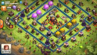 For breast cancer (Clash of clans)