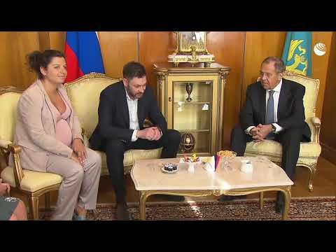 Встреча Сергея Лаврова и Кирилла Вышинского