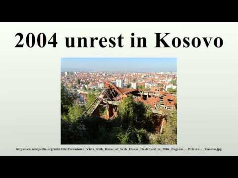 2004 unrest in Kosovo