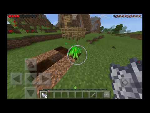 Minecraft PE ep.2 finishing my shelter