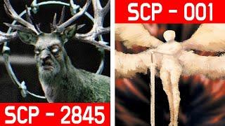 공포의 SCP - 2845 SCP - 001 과연 누가 더 강할까요..?! ★레전드 주의★