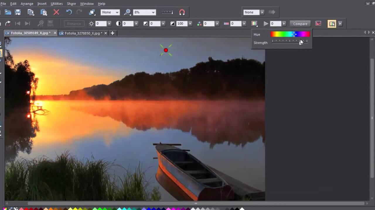 Color Select in Xara Photo & Graphic Designer & Designer ...