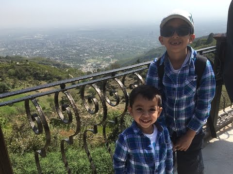 Pakistan Holiday - Margalla Hills & Monal Restaurant, Islamabad