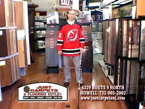 Just Carpets Tv Commercial With Nhl Hockey Star Jim Dowd Nj Devils