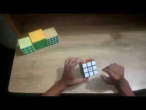 Solving Rubik's cube in bangla