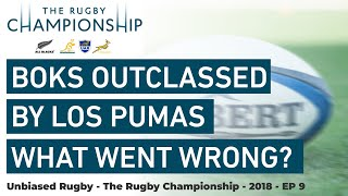 Rugby Championship 2018: What went wrong? Boks outclassed by Los Pumas in Argentina.