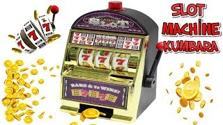 SLOT MAKİNESİ KUMBARA Slot Machine Money Box /Tanıtım Sepeti