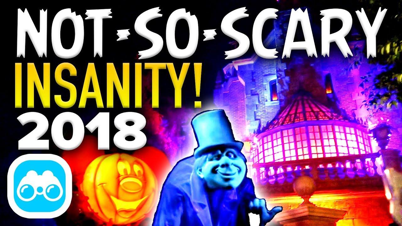 mickey's not so scary halloween party 2018 insanity! - disney vlog