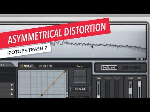 iZotope Trash 2: Asymmetrical Distortion | Music Production | Sound Design | Berklee Online