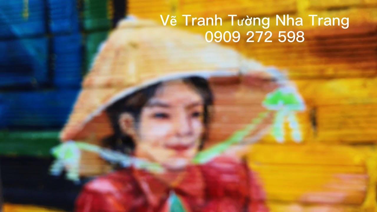 Vẽ Tranh Tường Nha Trang Chuyên Nghiệp Giá Rẻ Uy Tín Nhất | Esp 11 | 0909 272 598
