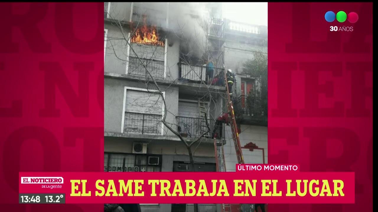Incendio en un edificio de Almagro - El Noti de la Gente