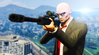 GTA 5 Mods - KILLING THE PRESIDENT! AGENT 47 HITMAN MOD! (GTA 5 PC Mods)