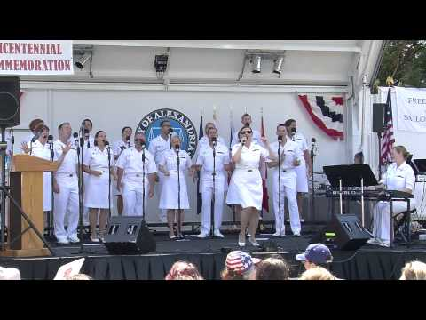 The USNavy Sea Chanters in Alexandria VA August 31 2014