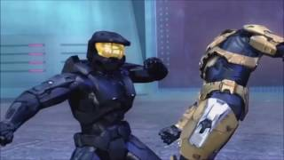Red VS Blue Tex Tribute | Imagine Dragons - Thunder