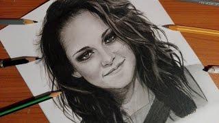 💜 Speed drawing : Kristen Stewart 💜 ( Bella Swan )