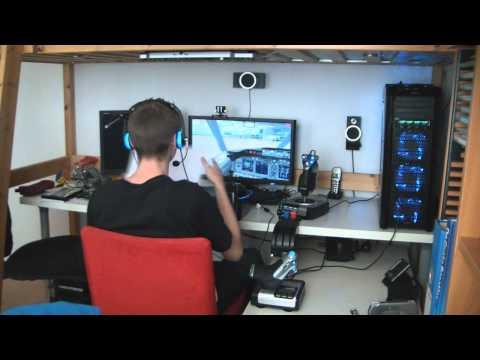 my-pc-flight-simulator-setup-demo-flight-1-part-1---boeing-737-[hd-720p]