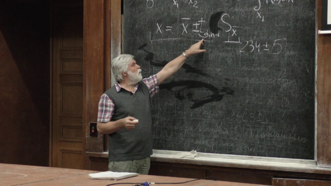 Митин И. В. - Обработка результатов физ. эксперимента - Распределение Стьюдента (Лекция 8)