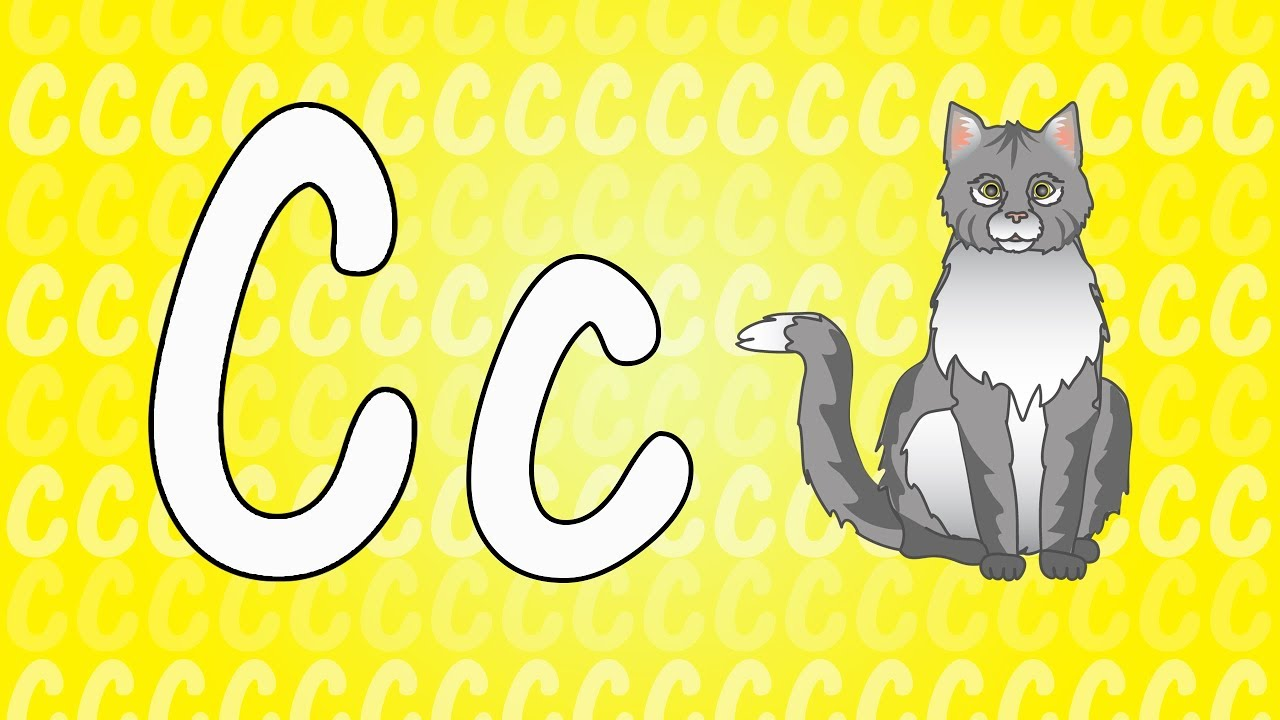 letter c song for kids - words that start with c - animals that